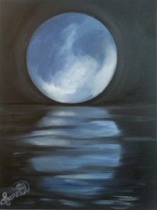 Moon Rising by Laura Pickell