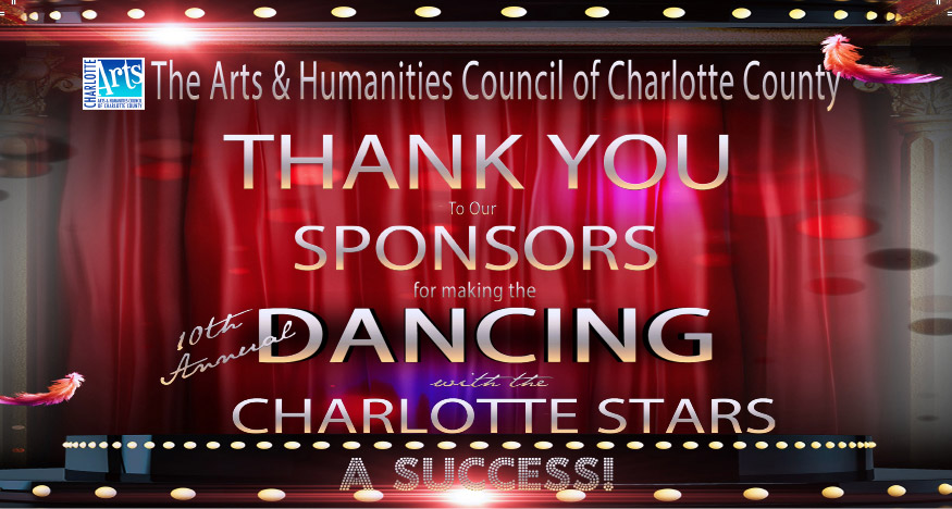 Thank you to our sponsors for making the 10th annual dancing with the charlotte stars a success