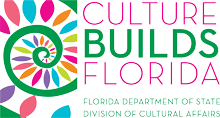 Culture Build Florida - Florida Department of State Division of Cultural Affairs logo
