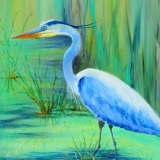 Gloria Urban: Great Blue Heron