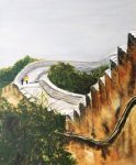 painting of the Great Wall of China